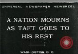Image of Funeral for President William Howard Taft Washington DC USA, 1930, second 1 stock footage video 65675035096
