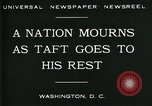 Image of Funeral for President William Howard Taft Washington DC USA, 1930, second 4 stock footage video 65675035096