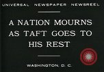 Image of Funeral for President William Howard Taft Washington DC USA, 1930, second 8 stock footage video 65675035096