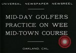 Image of miniature golf course Oakland California USA, 1930, second 7 stock footage video 65675035099