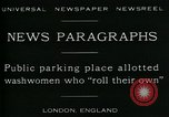 Image of British women washing laundry London England United Kingdom, 1930, second 7 stock footage video 65675035100