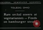 Image of Carnivorous Cobra Lilies Toledo Ohio USA, 1930, second 5 stock footage video 65675035101