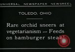Image of Carnivorous Cobra Lilies Toledo Ohio USA, 1930, second 7 stock footage video 65675035101
