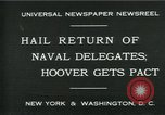 Image of Stimson delivers London Naval Treaty New York United States USA, 1930, second 10 stock footage video 65675035106