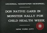 Image of school children New York City USA, 1930, second 1 stock footage video 65675035108