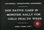 Image of school children New York City USA, 1930, second 2 stock footage video 65675035108