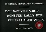 Image of school children New York City USA, 1930, second 3 stock footage video 65675035108