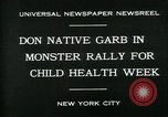 Image of school children New York City USA, 1930, second 6 stock footage video 65675035108