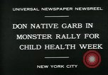 Image of school children New York City USA, 1930, second 8 stock footage video 65675035108