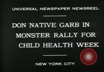 Image of school children New York City USA, 1930, second 9 stock footage video 65675035108