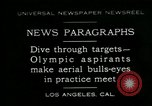 Image of Olympic aspirants Los Angeles California USA, 1930, second 1 stock footage video 65675035109