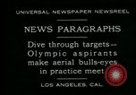 Image of Olympic aspirants Los Angeles California USA, 1930, second 2 stock footage video 65675035109