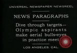 Image of Olympic aspirants Los Angeles California USA, 1930, second 3 stock footage video 65675035109