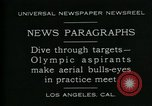 Image of Olympic aspirants Los Angeles California USA, 1930, second 4 stock footage video 65675035109