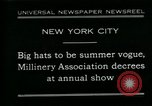 Image of models New York City USA, 1930, second 1 stock footage video 65675035110