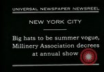 Image of models New York City USA, 1930, second 2 stock footage video 65675035110