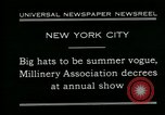 Image of models New York City USA, 1930, second 4 stock footage video 65675035110