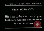 Image of models New York City USA, 1930, second 5 stock footage video 65675035110