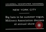Image of models New York City USA, 1930, second 6 stock footage video 65675035110