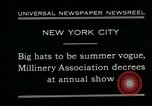 Image of models New York City USA, 1930, second 8 stock footage video 65675035110