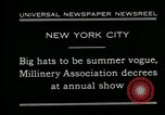 Image of models New York City USA, 1930, second 9 stock footage video 65675035110