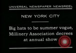 Image of models New York City USA, 1930, second 10 stock footage video 65675035110