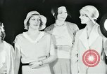 Image of models New York City USA, 1930, second 12 stock footage video 65675035110