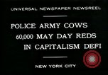 Image of Pro socialist May Day 1930 parade in New York New York City USA, 1930, second 1 stock footage video 65675035113