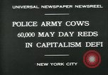 Image of Pro socialist May Day 1930 parade in New York New York City USA, 1930, second 4 stock footage video 65675035113