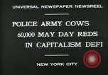Image of Pro socialist May Day 1930 parade in New York New York City USA, 1930, second 6 stock footage video 65675035113