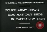 Image of Pro socialist May Day 1930 parade in New York New York City USA, 1930, second 8 stock footage video 65675035113