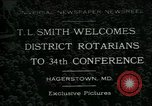 Image of T L Smith Hagerstown Maryland USA, 1930, second 1 stock footage video 65675035114
