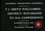 Image of T L Smith Hagerstown Maryland USA, 1930, second 5 stock footage video 65675035114