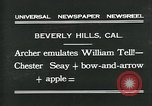 Image of archer Beverly Hills California USA, 1931, second 2 stock footage video 65675035118