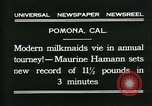 Image of American women Pomona California USA, 1931, second 7 stock footage video 65675035119