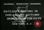 Image of Colgate Clock and Metropolitan Tower United States USA, 1931, second 7 stock footage video 65675035121