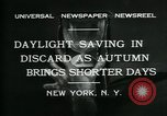Image of Colgate Clock and Metropolitan Tower United States USA, 1931, second 8 stock footage video 65675035121
