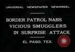 Image of Border Patrol El Paso Texas USA, 1931, second 1 stock footage video 65675035122