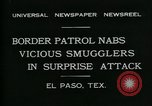 Image of Border Patrol El Paso Texas USA, 1931, second 2 stock footage video 65675035122