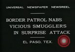 Image of Border Patrol El Paso Texas USA, 1931, second 3 stock footage video 65675035122