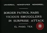 Image of Border Patrol El Paso Texas USA, 1931, second 4 stock footage video 65675035122
