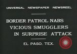 Image of Border Patrol El Paso Texas USA, 1931, second 5 stock footage video 65675035122