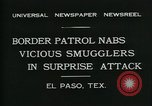 Image of Border Patrol El Paso Texas USA, 1931, second 6 stock footage video 65675035122