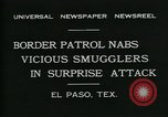Image of Border Patrol El Paso Texas USA, 1931, second 7 stock footage video 65675035122