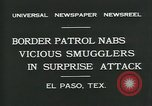 Image of Border Patrol El Paso Texas USA, 1931, second 8 stock footage video 65675035122