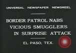Image of Border Patrol El Paso Texas USA, 1931, second 9 stock footage video 65675035122