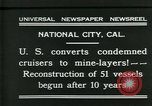 Image of American ships National City California USA, 1931, second 2 stock footage video 65675035124