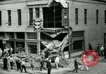 Image of damage from car hitting a building Dallas Texas USA, 1931, second 11 stock footage video 65675035127