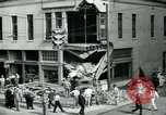 Image of damage from car hitting a building Dallas Texas USA, 1931, second 12 stock footage video 65675035127