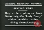 Image of dog athlete Seattle Washington USA, 1931, second 2 stock footage video 65675035128